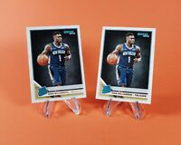 (2) Zion Williamson 2019-20 Donruss Rated Rookie RC #201 New Orleans Pelicans 📈