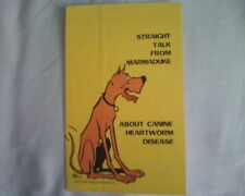 vintage 1979 advertising flyer Straight Talk From Marmaduke cartoon dog RARE OOP