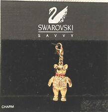 Swarovski Charm Pendant Teddy Bear ~ Great Christmas Gift ~ Hard to find