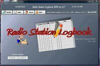 Ham Radio Station Logbook Software Log Book Ver 4.7  for Windows, By KJ4IYE