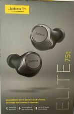 Jabra Elite 75t Titanium Black Wireless Headphones - Titanium Black