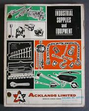 Vintage Acklands Ltd. Industrial Supplies & Equipment Catalog 384 Pages