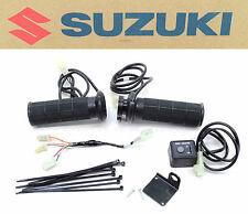 New Genuine Suzuki Heated Grips Kit 14-16 DL1000 V-Strom Complete Grip Set #O36