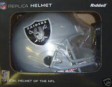 Oakland Raiders Riddell Deluxe Full Size NFL Football Helmet New in Factory Box
