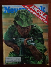 NEWSWEEK magazine J19 1976 ANGOLA WAR-John F. Kennedy-CHOU EN LAI Death CHINA