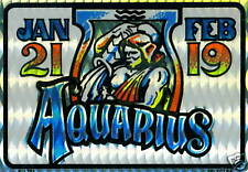 Aquarius   - Astrology Zodiac Sign Sticker LOT NEW