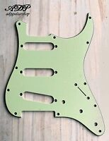 Pickguard SSS for Stratocaster 3 ply 11 trous/holes Strat Mint Green PG-0552-024