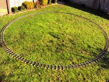 "Eight Tracks  4-3/4"" Gauge, 20 foot diameter"