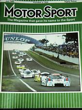 Le Mans 1985 Newman Joest Porsche 956 Ludwig Winter Barilla Group 44 Jaguar Xjr5
