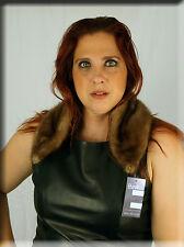 New Brown Mink Fur Scarf or Collar Efurs4less