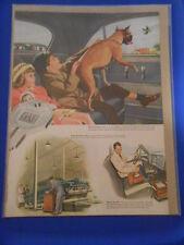 Vintage Original Automobile Advertisement Ad 13 x 10 GM