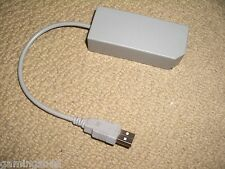 NINTENDO WII & WII U WIRED USB LAN NETWORK ETHERNET NET ADAPTER CABLE LEAD RJ45