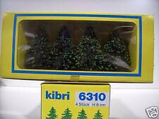 Kibri # 6310 Pine Tree (4 Pack) 6 cm Tall  A  MIB