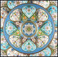 Timeless Turquoise - Counted Cross Stitch Patterns Chart Needlework DIY DMC