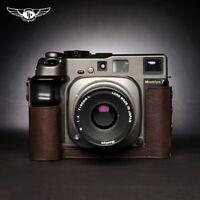 MAMIYA 7ii 7 6 6MF Half Case Camera Retro Cover Genuine Leather TP Handmade Case