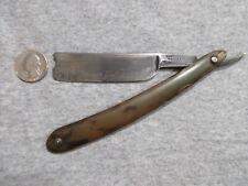 vintage Wade & Butcher Sheffield straight razor blade lot U