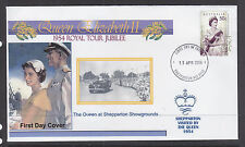 """SOUVENIR COVER:  2004,, THE ROYAL TOUR JUBILEE OF 1954, VISITED """"SHEPPARTON"""""""