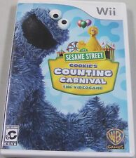 Sesame Street: Cookie's Counting Carnival (Nintendo Wii, 2010)