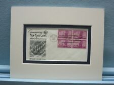1653 - 300th Anniversary of the New York City & First Day Cover of its own stamp