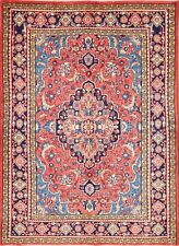"Excellent Floral 5x7 Mahal SaroukPersian Area Rug Oriental Carpet 6' 10"" x 5' 0"""