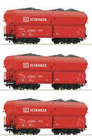 Roco H0 56339-S Selbstentladewagen der DB AG Schenker (3 Stück) - NEU + OVP