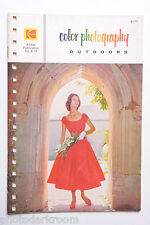 Kodak 1973 E-75 Color Photography Outdoors Info Guide - English USED B60