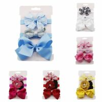 Children Girl's  Sun Flower Bowknot Head Band Scrunchy Holder Hairband Hair t