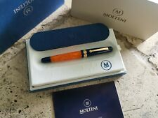 MOLTENI PEN MODELO 57 GOLD TRIM FOUNTAIN PEN