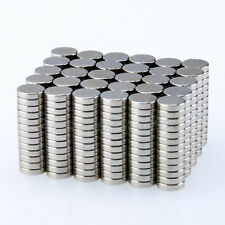 100 500pcs N35 Small Strong Rare Earth Neodymium Disc Magnets 6mm X 15mm