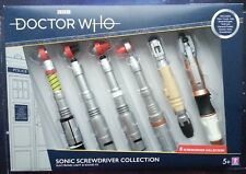 Doctor Who 6 Sonic Screwdriver Set UK Exclusive 3rd 4th 5th 6th 8th 10th 11th Dr