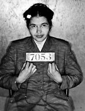 ROSA PARKS MUG SHOT GLOSSY POSTER PICTURE PHOTO PRINT BLACK HISTORY MUGSHOT