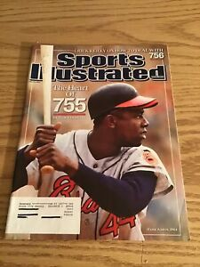 July 23 2007 Hank Aaron Atlanta Braves Baseball Sports Illustrated Magazine HOF