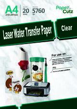 More details for water slide decal paper a4 laser waterslide transfer paper