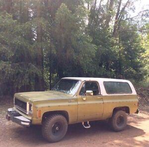 1974 Chevrolet Blazer K5 Cheyenne
