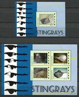 Palau 2012 Rochen Stingrays Meerestiere Postfrisch MNH