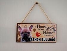 french bulldog wall sign /ornament
