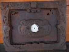 Acme Triumph Antique Door Iron Stove Grill Salvage Art Farmhouse Country