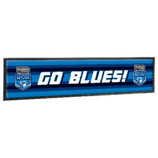 2019 State of Origin Bar Runner Mat NRL NSW New South Wales Man Cave Gift