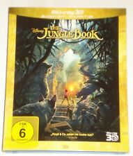 The Jungle Book  3D & 2D   Blu Ray  im Schuber NEU OVP
