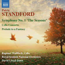 Sym 1 The Seasons Cello Con & Prelude To A - Standford / Wallfi (2015, CD NIEUW)