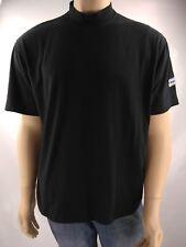 Blockbuster Video T-Shirt Official Men's Mock Turtleneck Logo Work Shirt Size XL