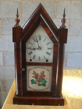 Rosewood 8-Day Antique Mantel & Carriage Clocks