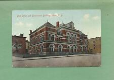 POST OFFICE & GOVERNMENT BUILDING In UTICA, NY On Vintage 1910 Postcard