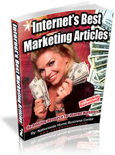 INTERNET'S BEST MARKETING ARTICLES PDF EBOOK FREE SHIPPING RESALE RIGHTS