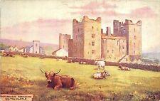 BR39411 bolton Castle cow vaches england