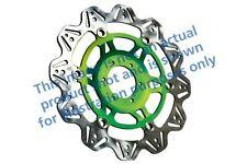 FIT KAWASAKI GPZ 1100 F1 (ABS Mode 96>98 EBC VR Brake Disc Green Hub Front Right