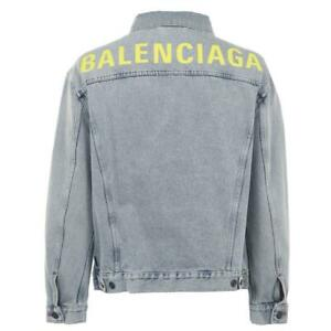 BALENCIAGA Denim Jacket UK 8 / EUR 36 rrp £975- Ex-Display