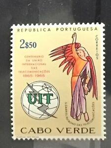 Cape Verde Stamp 1965 international telecommunications centenary MNH