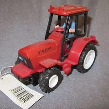 483D Jouet Tracteur Agricole Farm Rouge 13,5cm