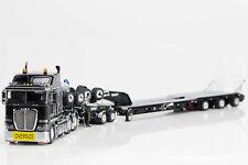 New Drake 1:50 Kenworth K200 Prime Mover 2x8 Dolly 3x8 Trailer Black